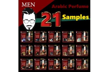 Men Group Samples (1.5ml each)