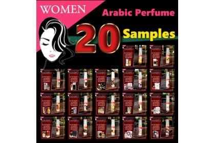 Women Group Samples (1.5ml each)