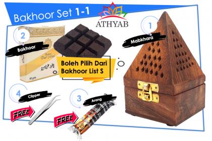 Bakhoor Set 1