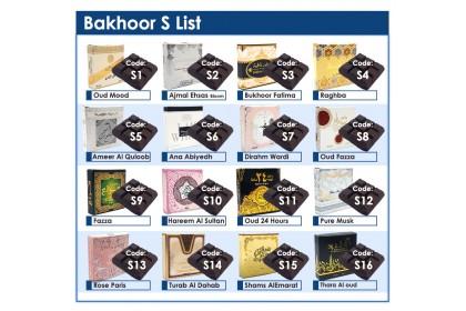 Bakhoor Set 2
