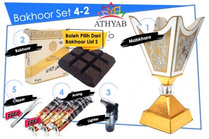 Bakhoor Set 4
