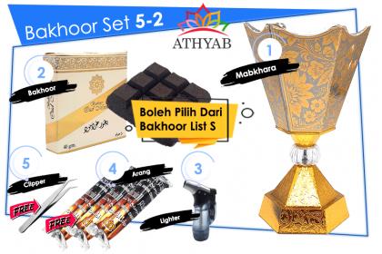 Bakhoor Set 5