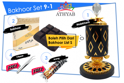 Bakhoor Set 9