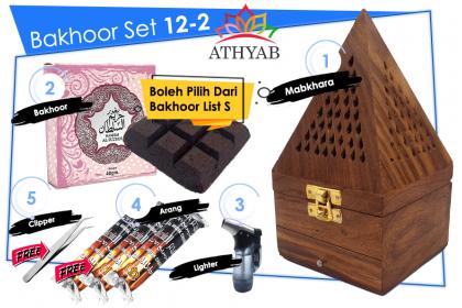 Bakhoor Set 12
